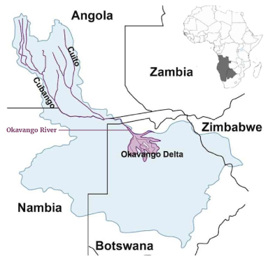 okavango-river-map