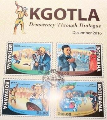 botswana-kgotla-stamps