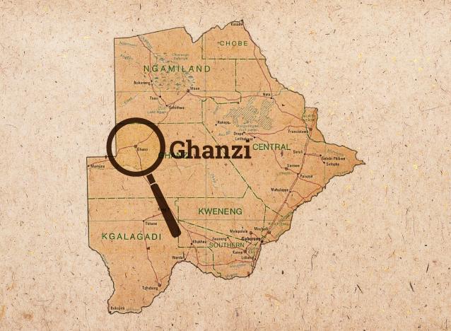 Gantsi Home Of The Kalahari Desert And Meerkats YourBotswana - Kalahari desert map