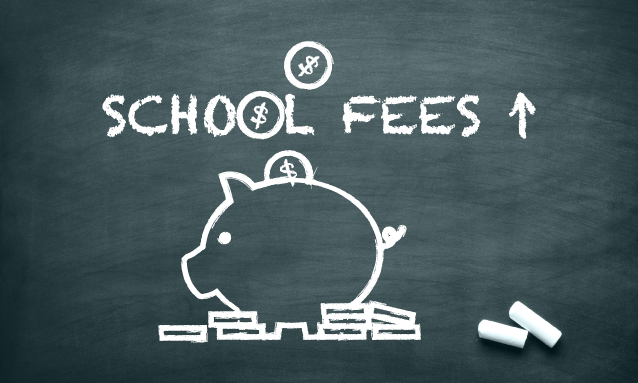 how to find private school fees