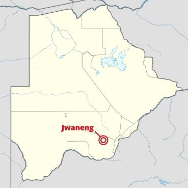 jwaneng-mine-location